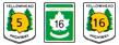 TransCanada Highway Association icons
